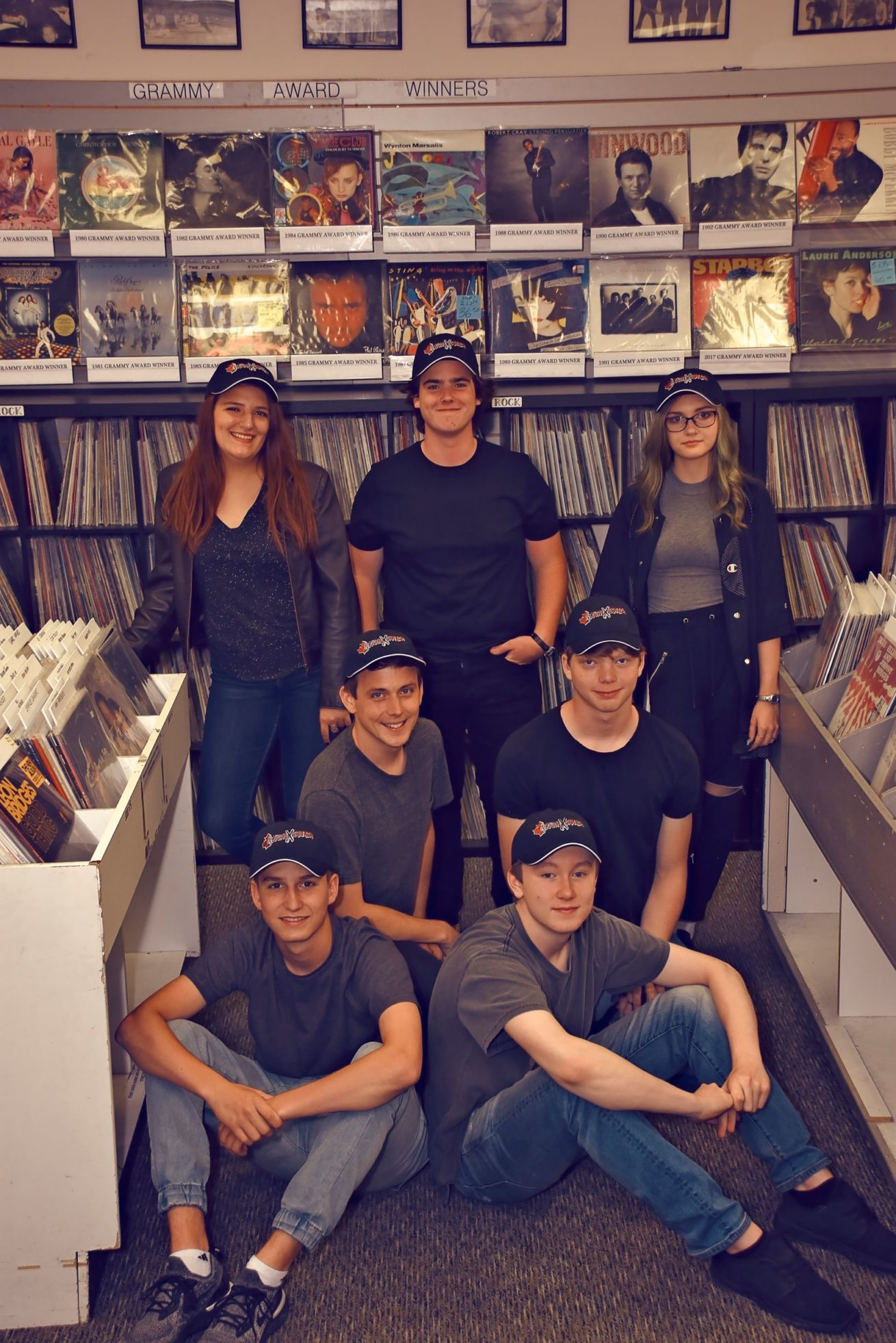 YxC Hats Record Store - resize